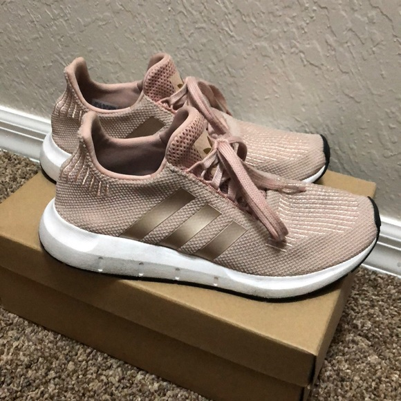 4bb1aac3e5ad5 adidas Shoes - Adidas Run swift Nude   Rose Gold